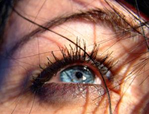 Auge eines Menschen