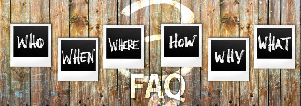 Les questions souvent posées – FAQ