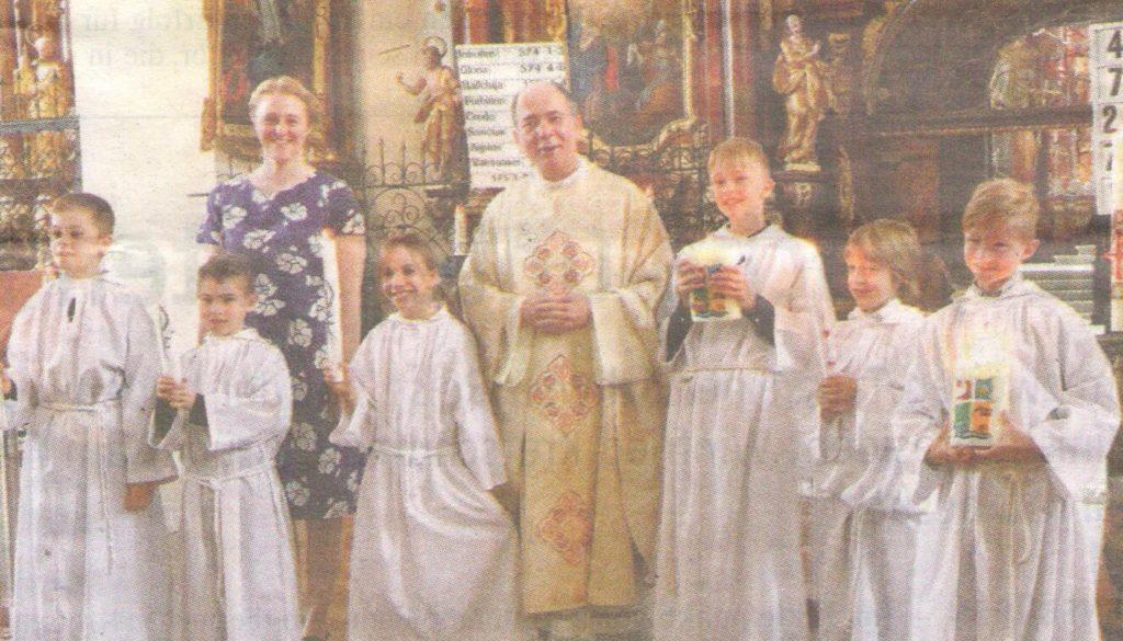 Erstkommunion der Christkatholiken