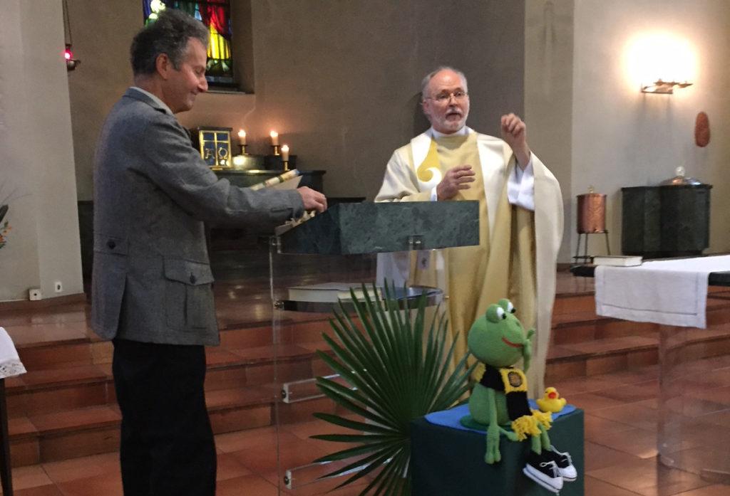 Abschiedsgottesdienst  Pfarrer Hans Metzger