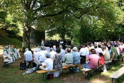 Feldgottesdienst der Kirchgemeinde Baselland