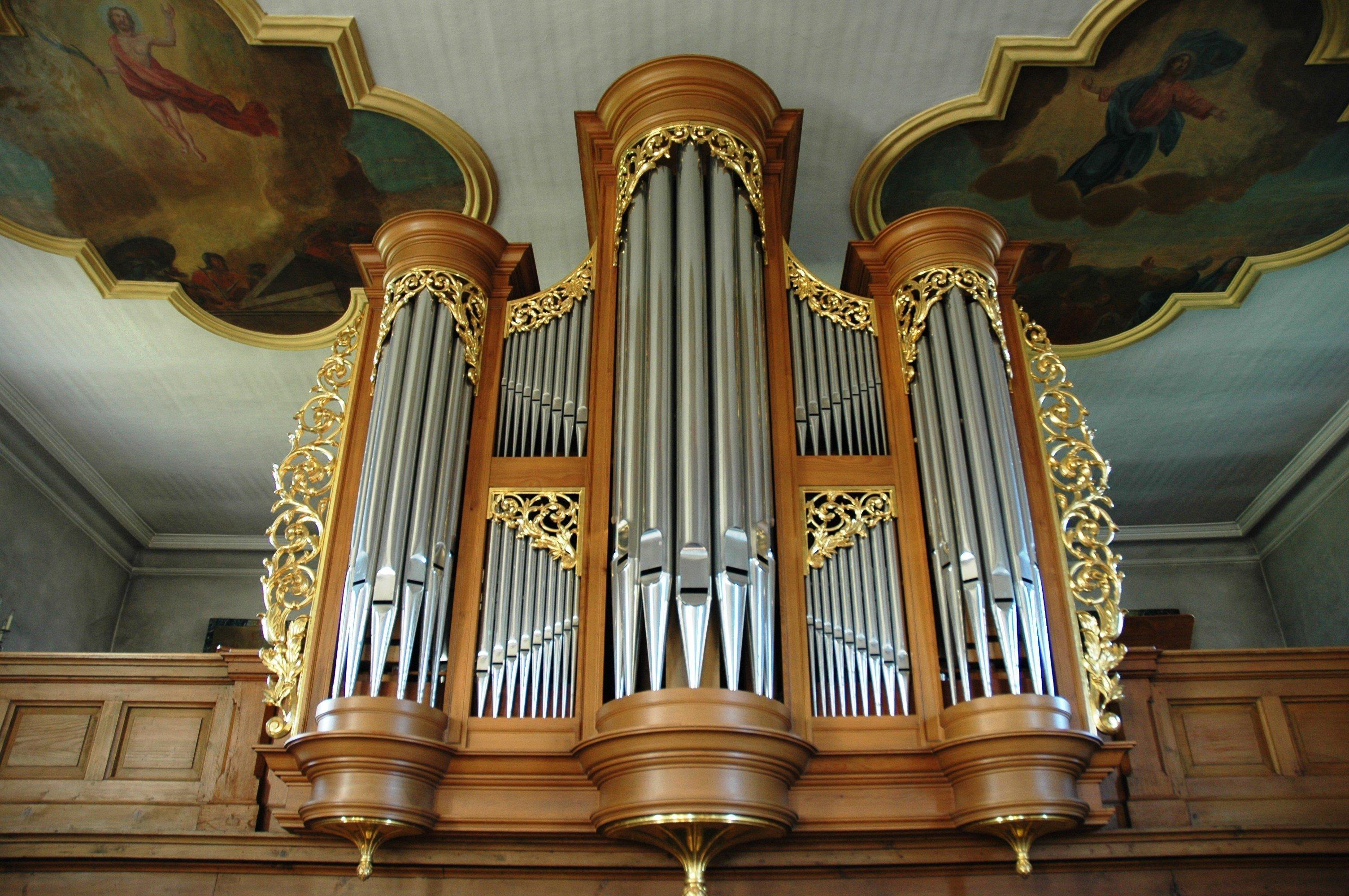 Orgel in der Kirche St. Leodegar Möhlin