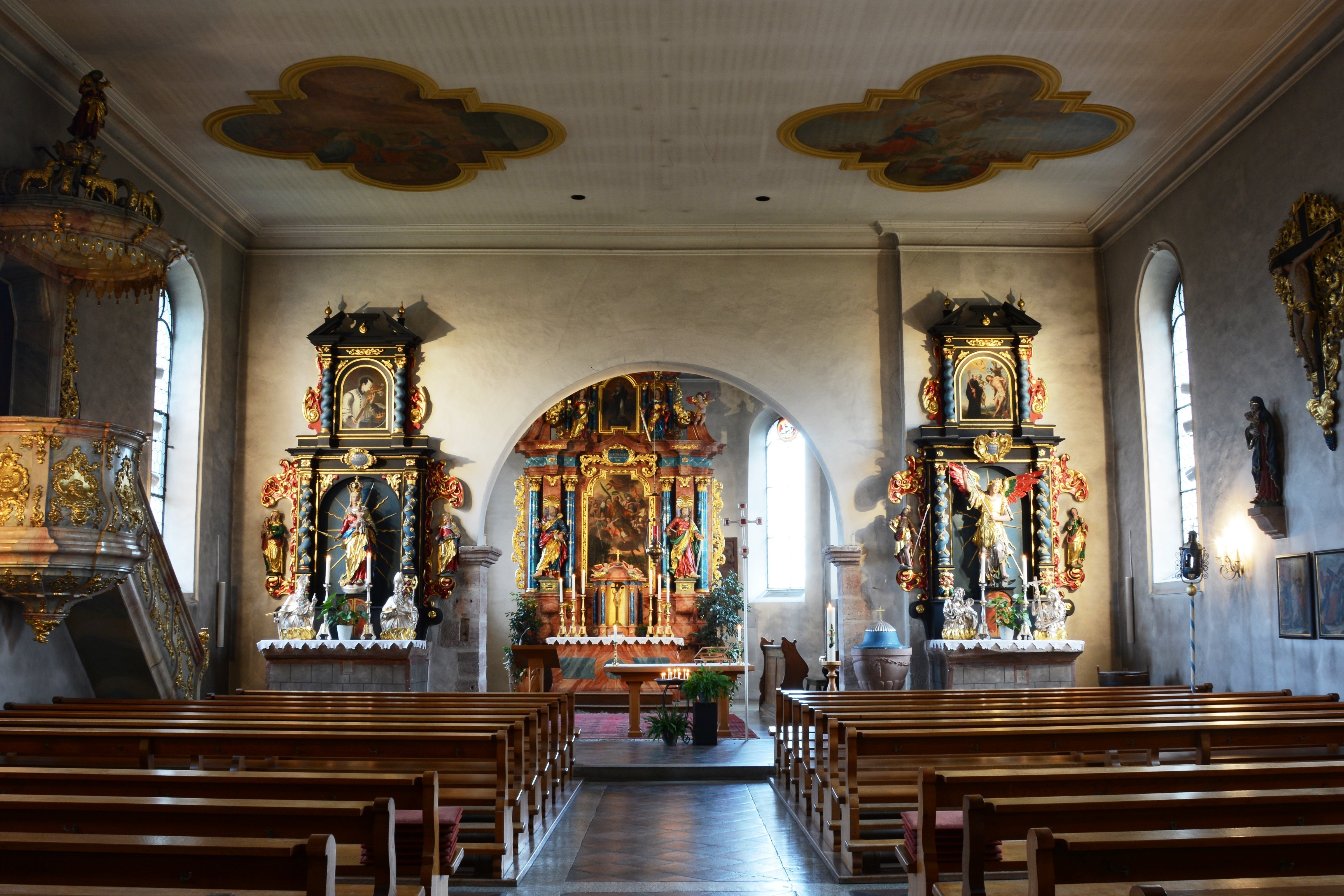 Kirche St. Leodegar Innenansicht