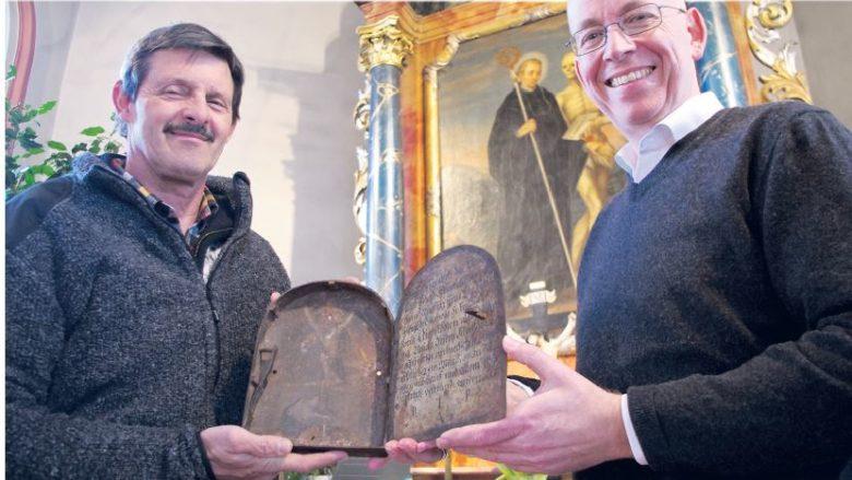 Die Fridolins-Kapelle kommt zu einem Schatz