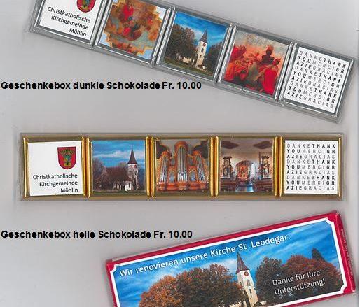 Schoggi Geschenkbox
