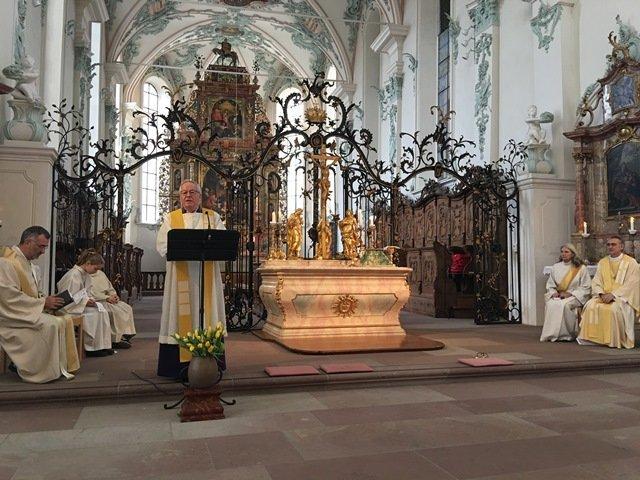 Lebensfeier Bischof Fritz-René Müller
