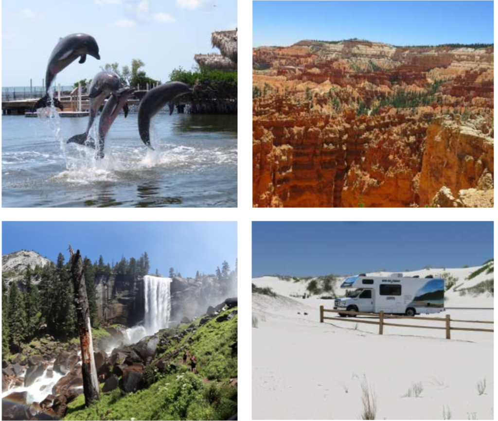 Bilder und Erlebnisse aus Florida und dem Südwesten der USA