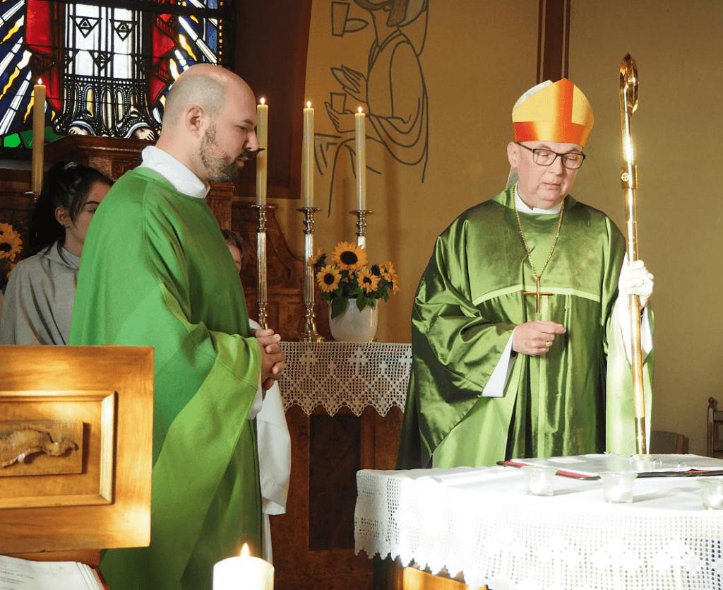 Einsetzung von Pfarrer Florian Bosch in Dettighofen