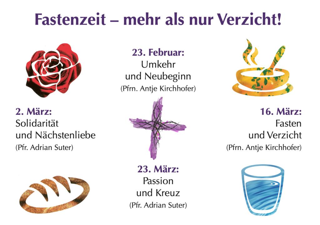 Fastenzeit – mehr als nur Verzicht!