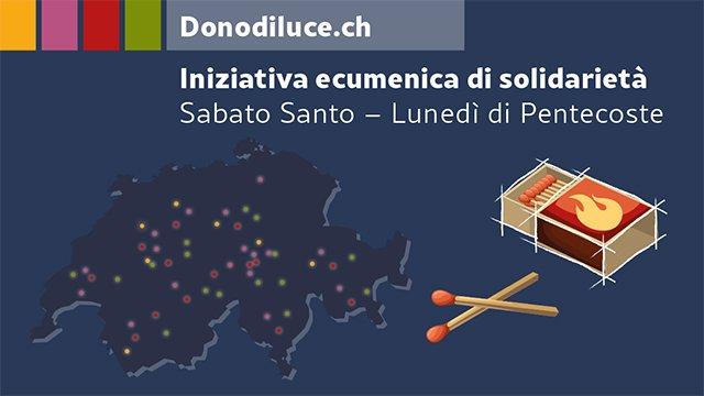 Donodiluce.ch : un'azione ecumenica invita alla speranza, gratitudine, al ringraziamento e alla solidarietà