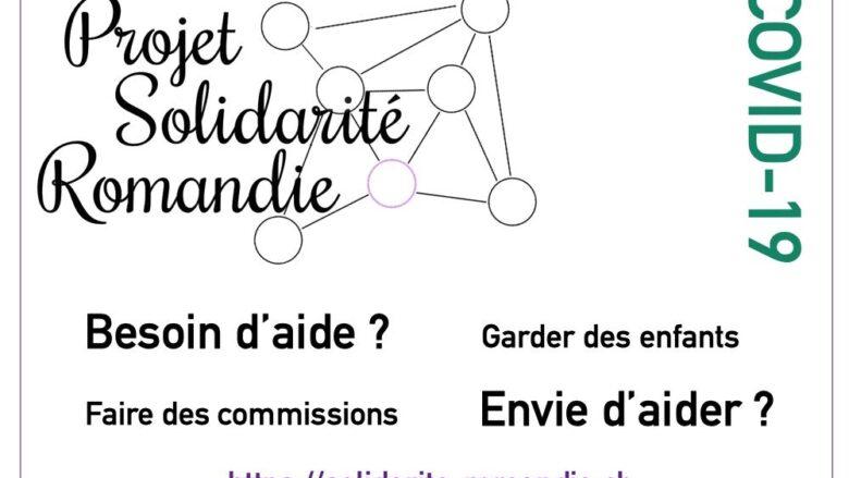 Projet Solidarité Romandie