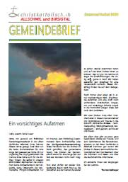 Gemeindebrief der Kirchgemeinden Allschwil-Schönenbuch und Birsigtal - Sommer/Herbst 2020