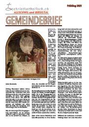 Gemeindebrief der Kirchgemeinden Allschwil-Schönenbuch und Birsigtal - Frühling 2021