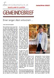 Gemeindebrief Baselland & Laufen Herbst/Winter 2020/2021