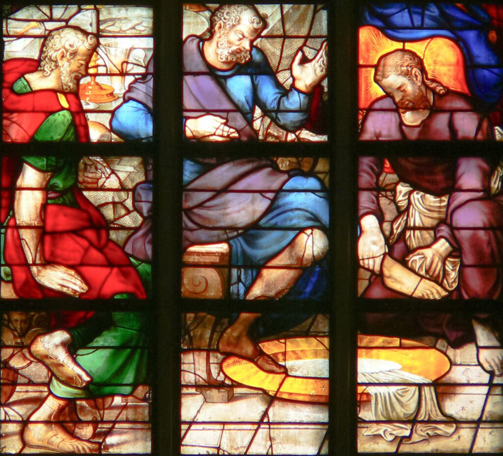 Le lavement des pieds en lieu et place de l'eucharistie