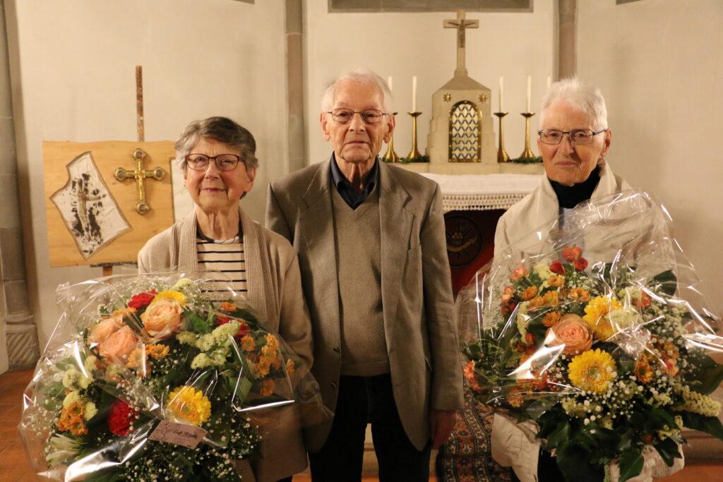 Verabschiedung von Präsident Ernst Schuler und Doris Röthenbacher Finanzverwalterin aus dem Vorstand