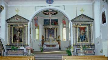 Wiedereinzug AlteDorfkirche St.PeterundPaul Allschwil