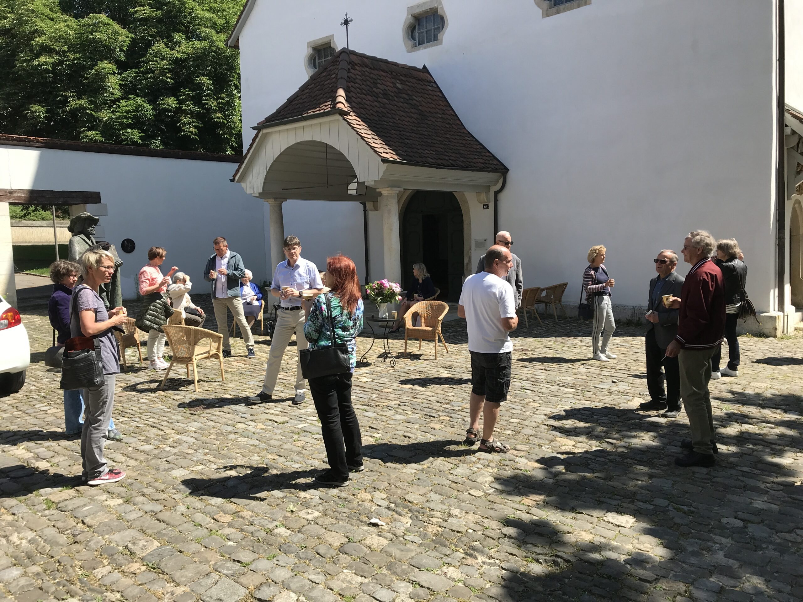 Gemeindeleben Laufen - Pfingsten 30.05.2020