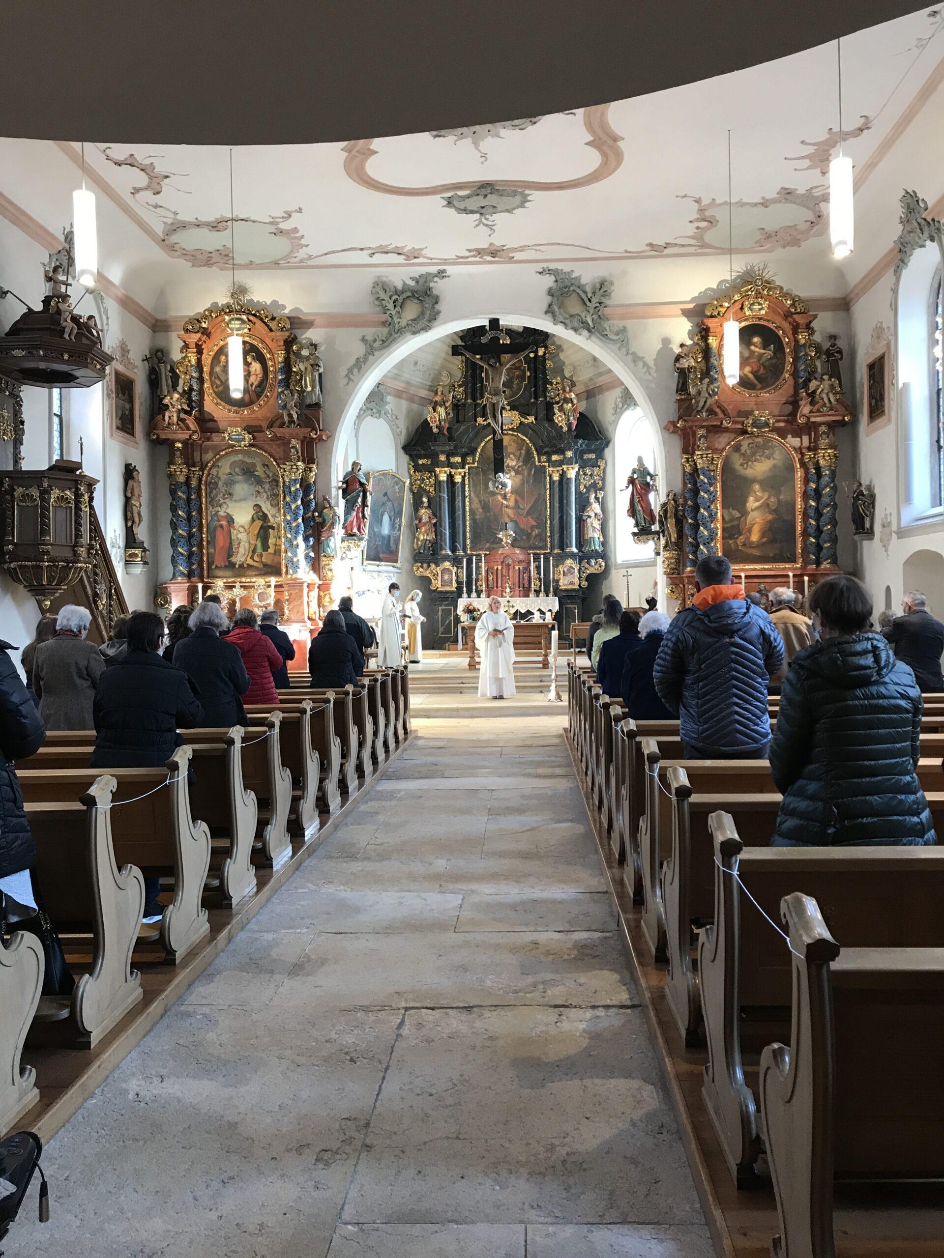 Gemeindeleben Laufen - Abschiedsgottesdienst Denise Wyss 15.11.2020