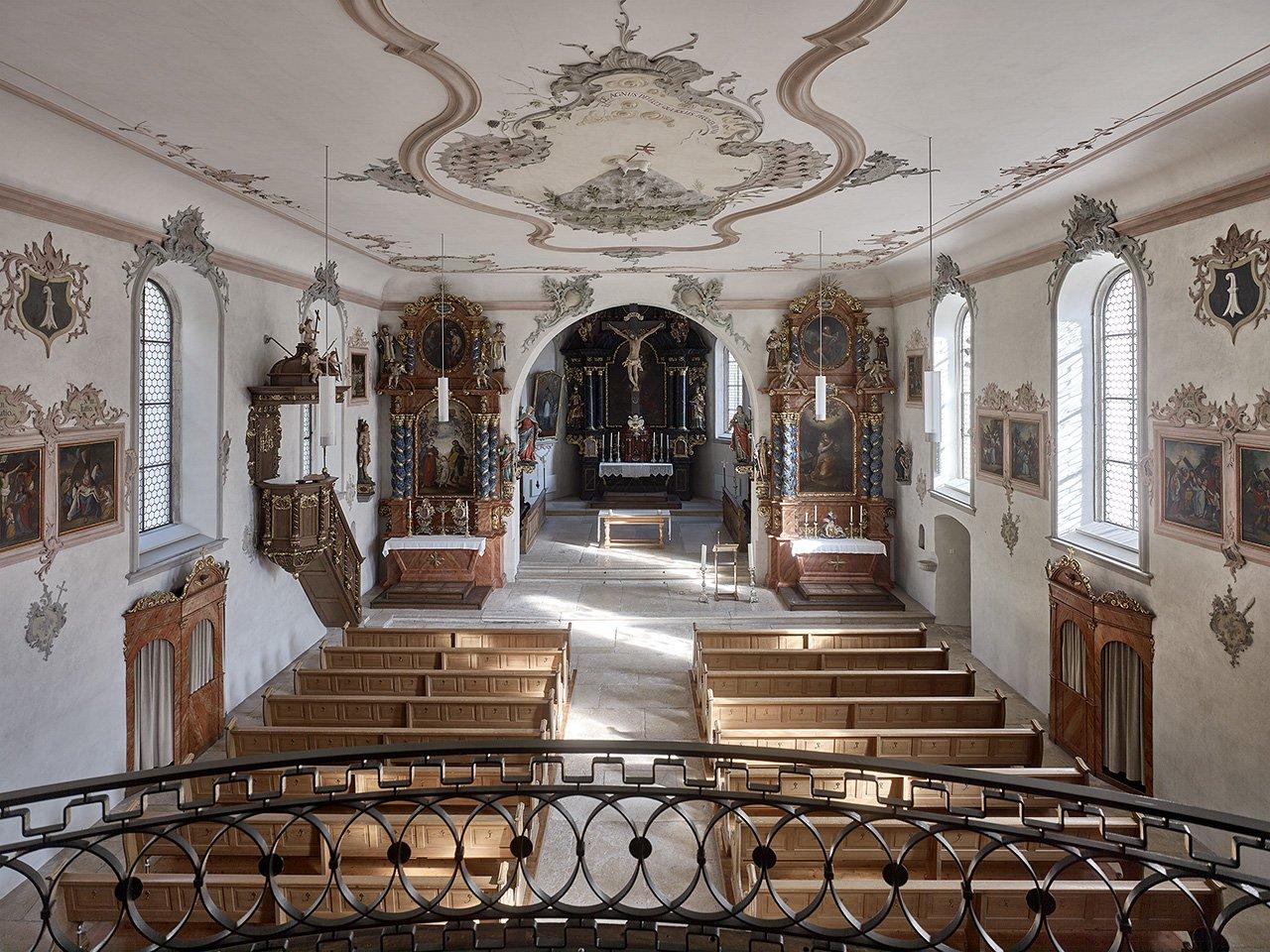 St. Katharinenkirche Laufen - Innenraum