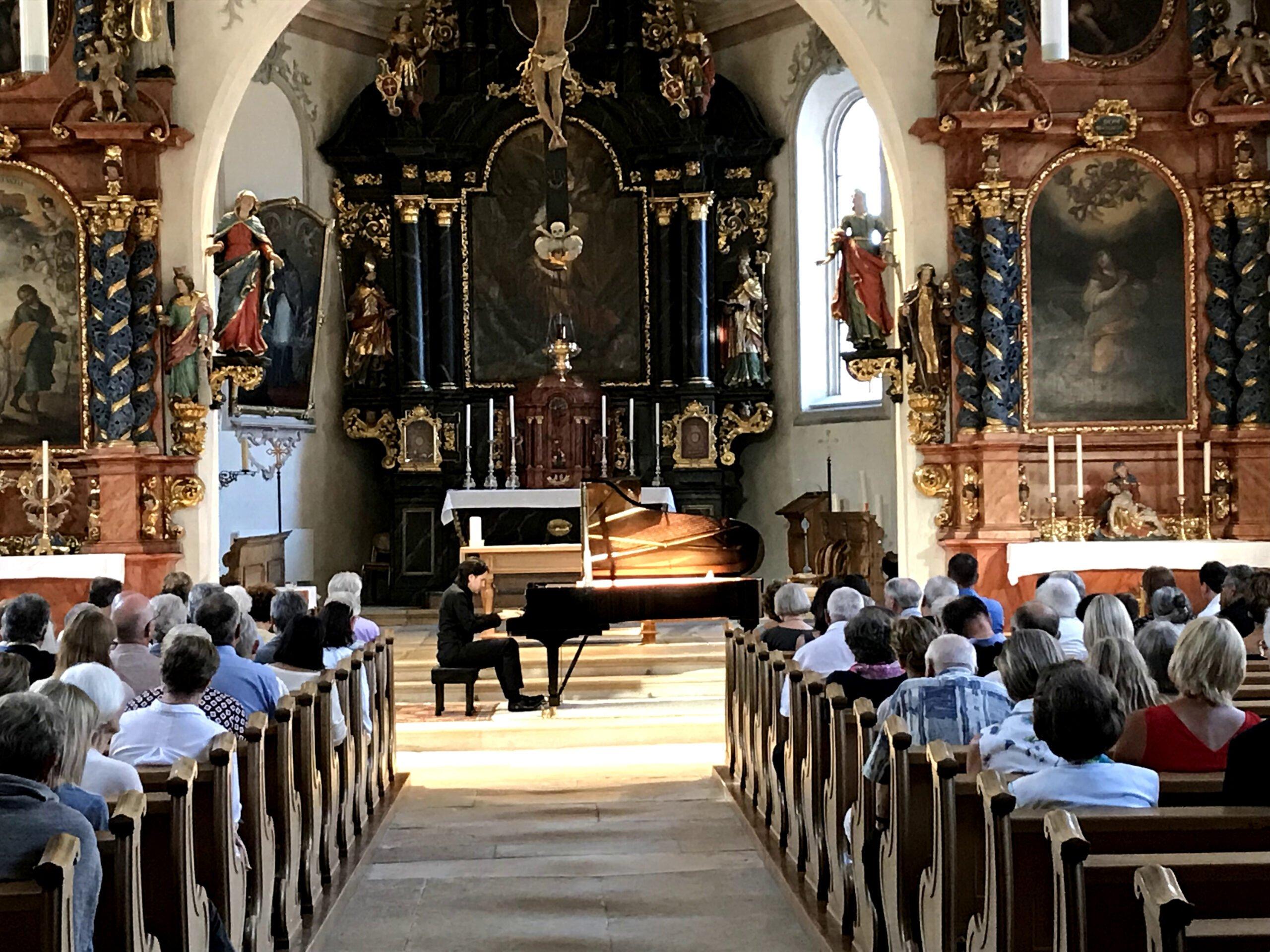 Konzert in der Stadtkirche St. Katharina, Laufen