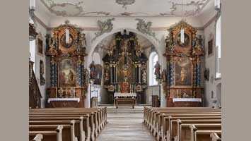 Stadtkirche St. Katharina, Laufen Copyright ©2018 by Ariel Huber, Lausanne