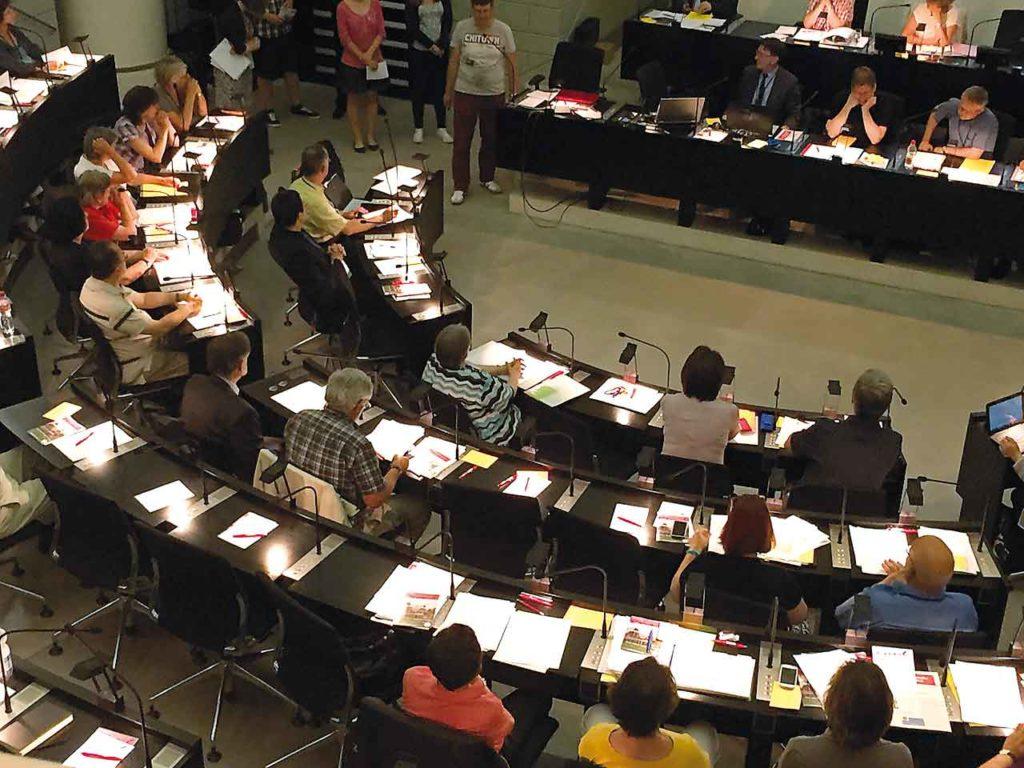 Briefliche Abstimmung vom 30. November 2020 über Beschlüsse der Nationalsynode 2020 – Resultate