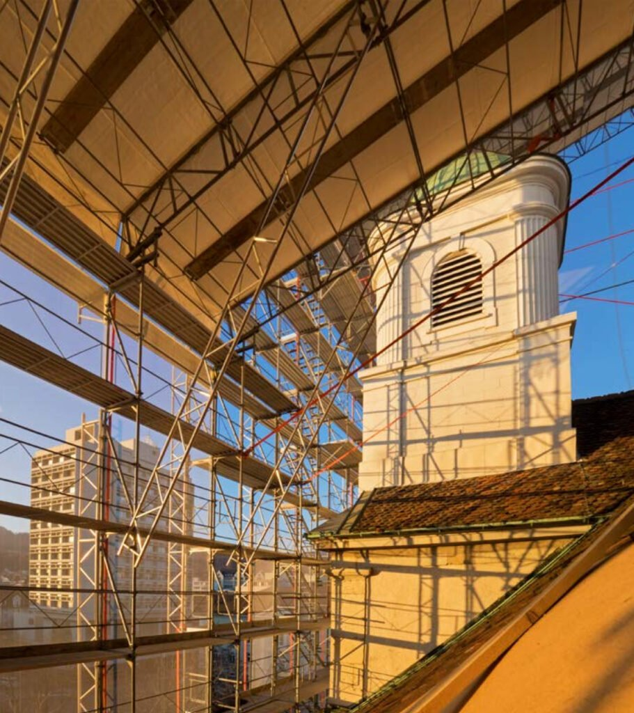 2016 – Dach-Renovation Stadtkirche Olten