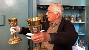 Garten- und Kirchenschätze bewundert