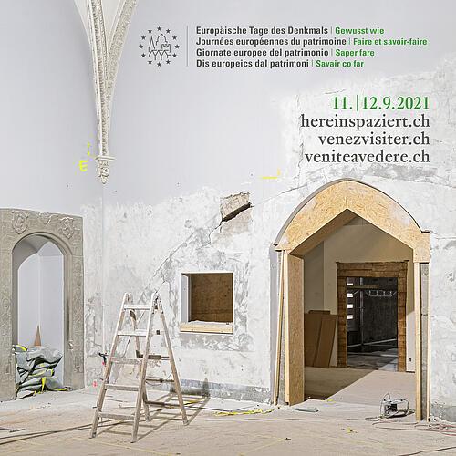 Europäische Tag des Denkmals, am 12.9. in der Stiftskirche